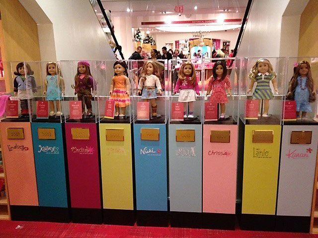 american girl muñecas