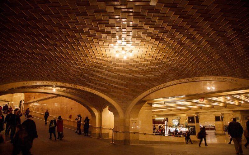 techo estacion central nueva york