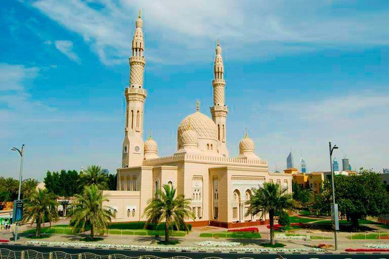 mezquita jumerai dubai