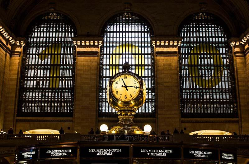reloj estacion central nueva york