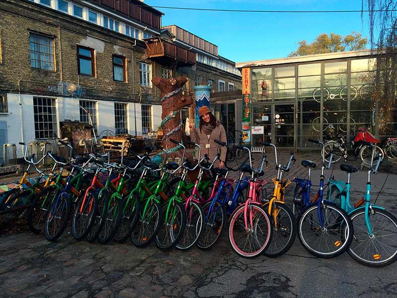 Bicicletas de colores, Christiania