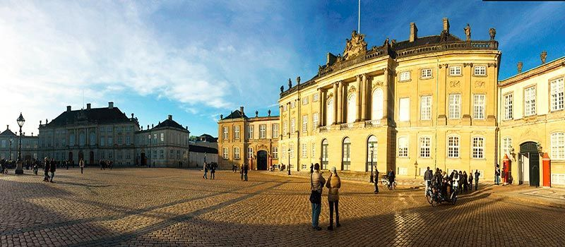 Plaza de Amalienborg