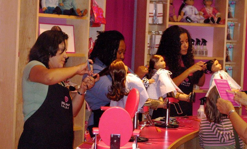 Que ver en Manhattan american girl peluqueria
