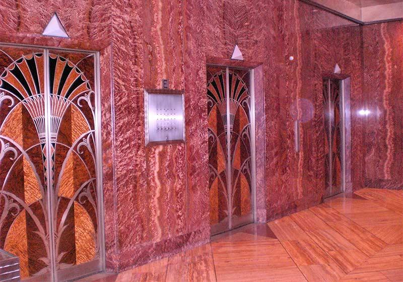 que ver en manhattan ascensores chrysler building