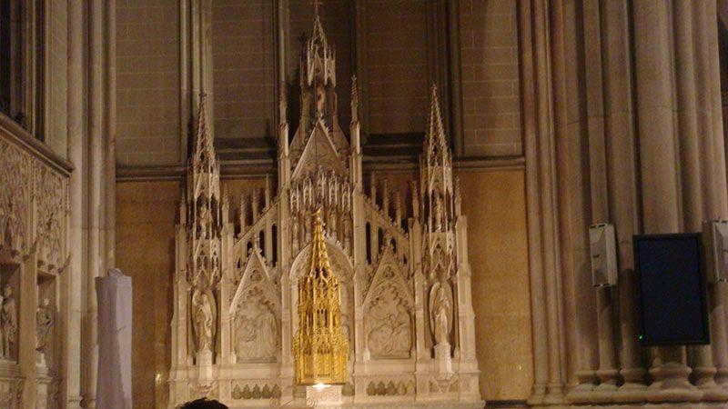 que ver en manhattan catedral sant patrick interior