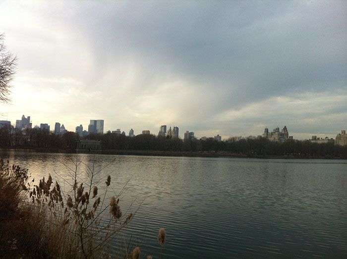 Nochevieja en Nueva York Central Park