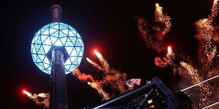 Nochevieja en Nueva York Drop Ball