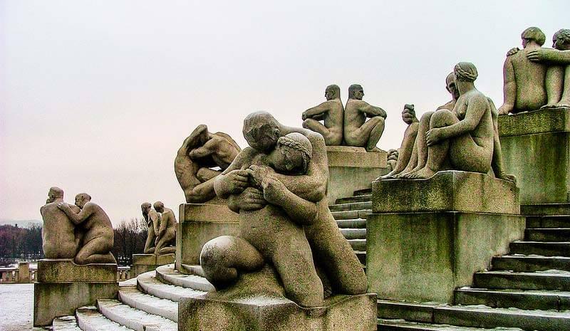 Esculturas del parque Vigeland