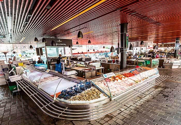 Mercado de pescado bergen