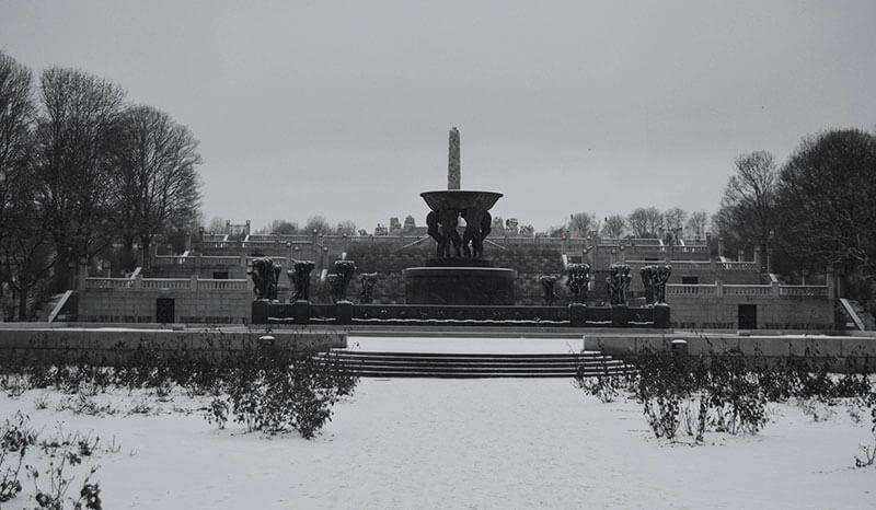 Monolito del parque Vigeland oslo