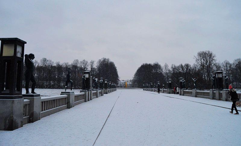 Puente del parque Vigeland