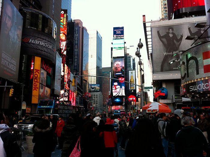 Que ver en Manhattan times square