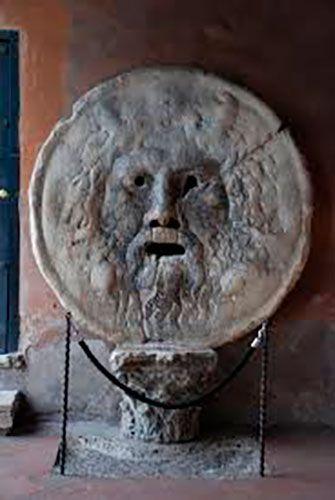 Bocca della verità que visitar en Roma