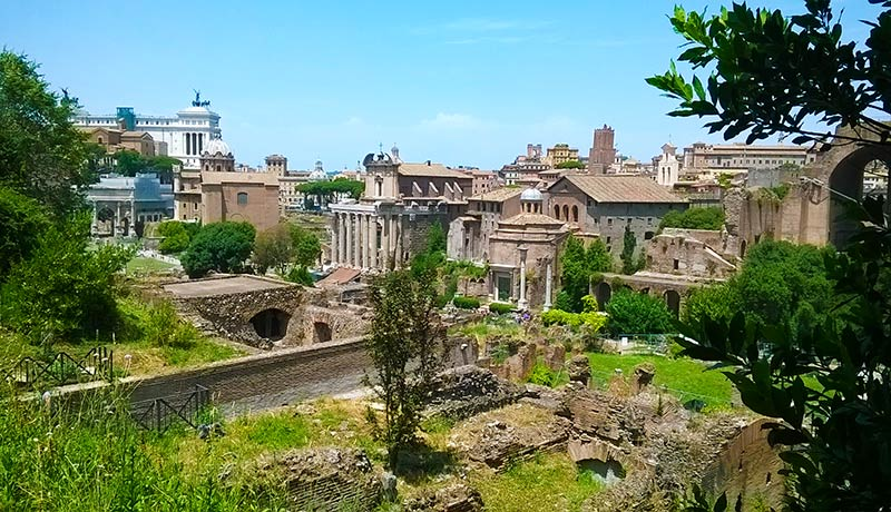 que ver en Roma Foro Romano