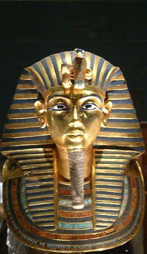Máscara de Tutankamon barrio copto de El Cairo
