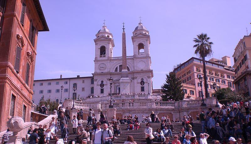 Piazza di Spagna que visitar en Roma