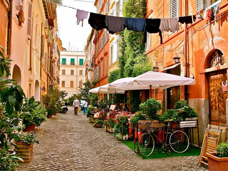 Terrazas del Trastevere que visitar en Roma