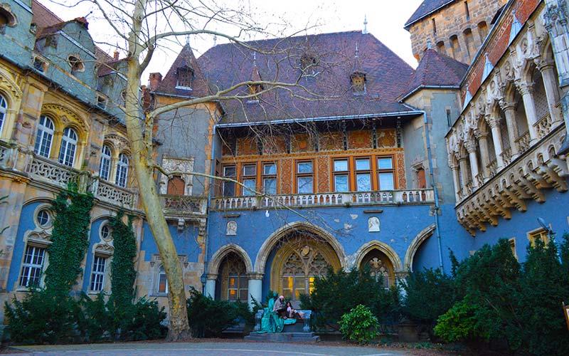 Castillo Vajdahunyad Budapest