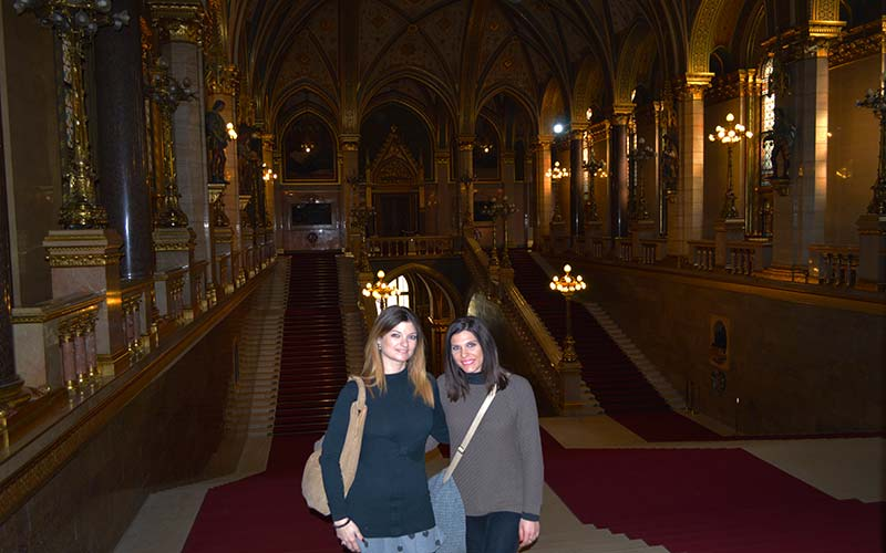 Visita del parlamento de Budapest