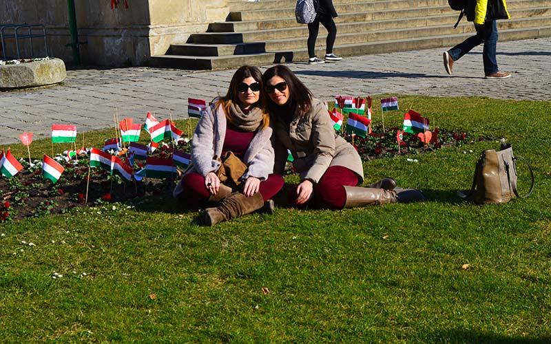 Descansando en Budapest