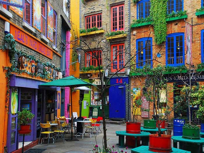Neal´s yard Londres