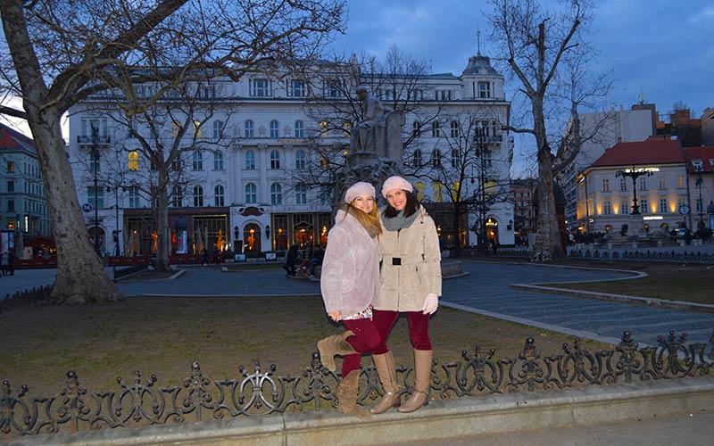 Plaza Vorosmarty Budapest
