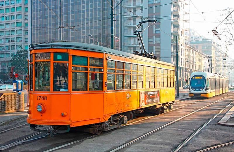 Tranvía Milán