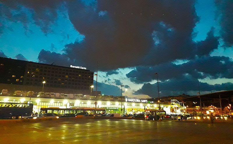 Estación de Sants Barcelona
