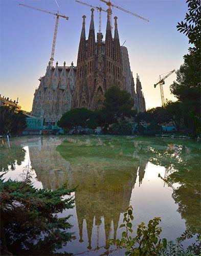 vistas a la plaza de Barcelona