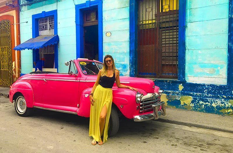 """Nuestro """"almendrón"""" en La Habana"""
