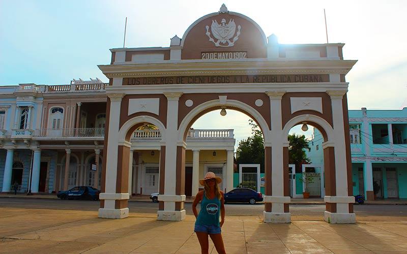 Arco del Triunfo Cienfuegos