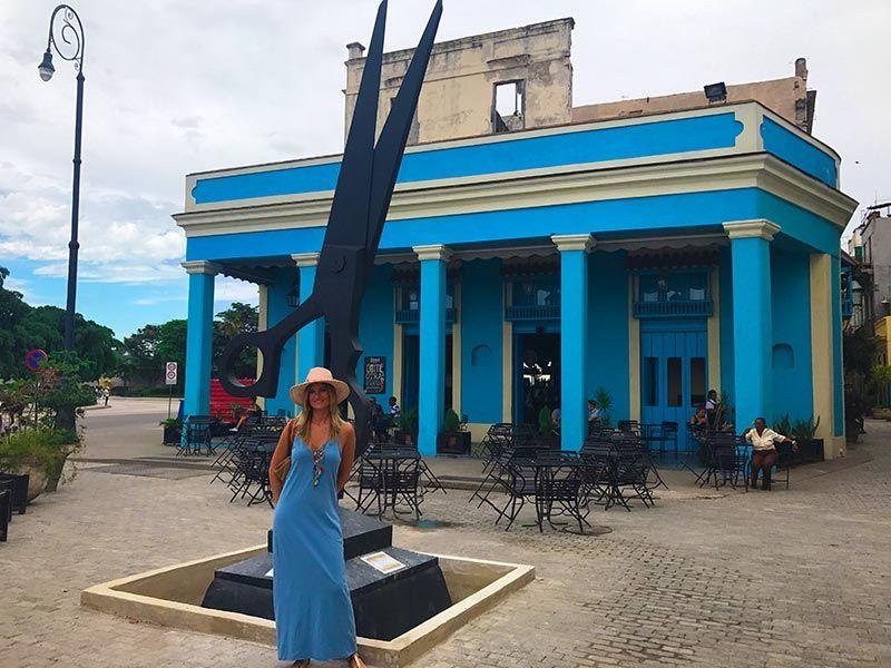 Callejon de los peluqueros Habana