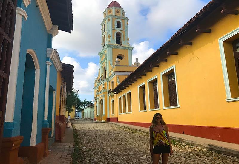 Paseando por el centro de Trinidad