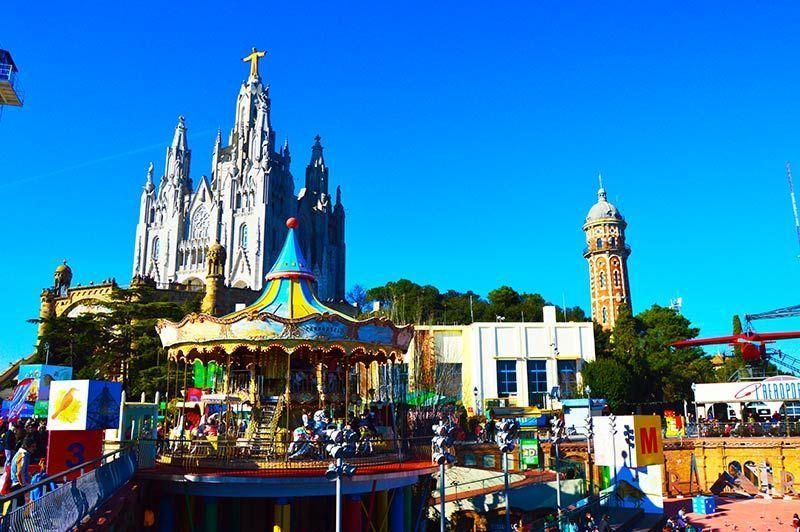 Iglesia del Tibidabo las ciudades más bonitas de españa