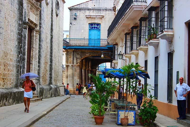 Calles de Habana vieja