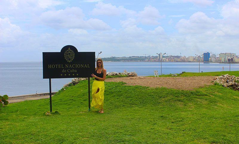 Vistas desde el Hotel Nacional Habana