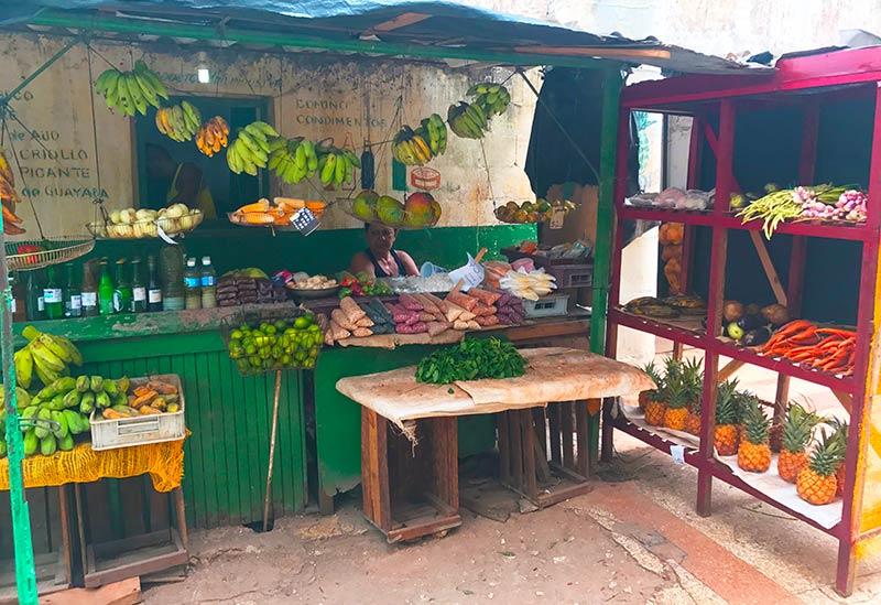 Mercado en Habana Centro