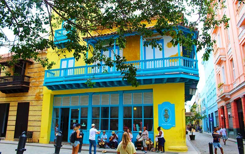 Mercería azul habana