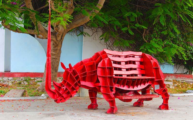Parque de las esculturas Cienfuegos