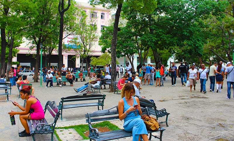 Punto de conexion wifi Habana