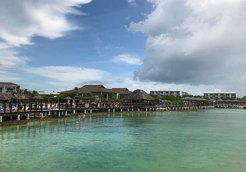 Nuestro hotel en Playa Pilar