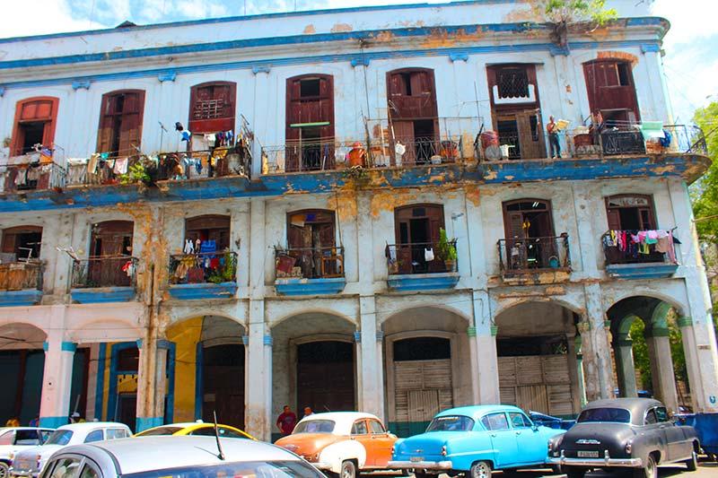 edificio ruinoso la habana