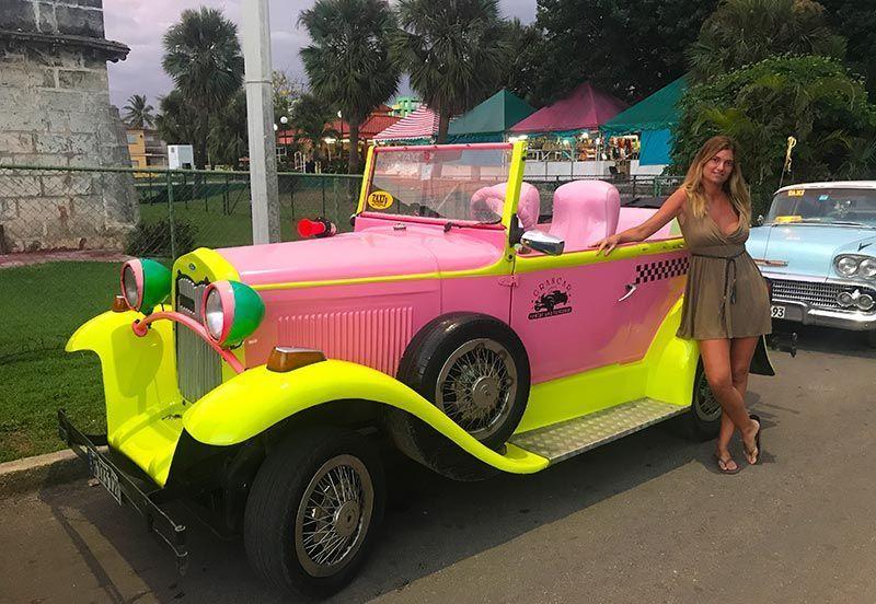 Taxis en Varadero
