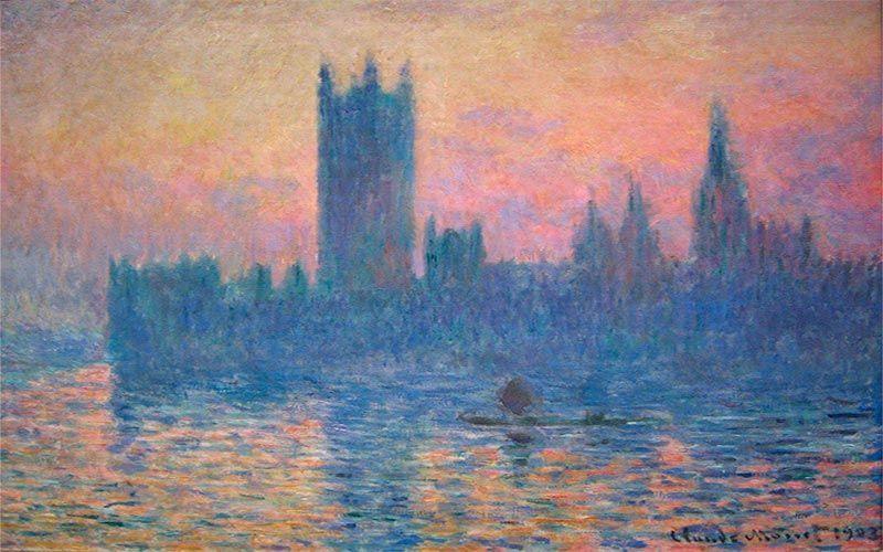 Claude Monet - La serie de Parlamentos de Londres