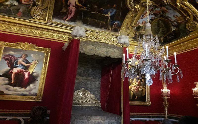 Habitaciones en el Palacio de Versalles