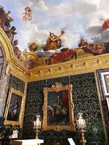 Interiores del Palacio de Versalles