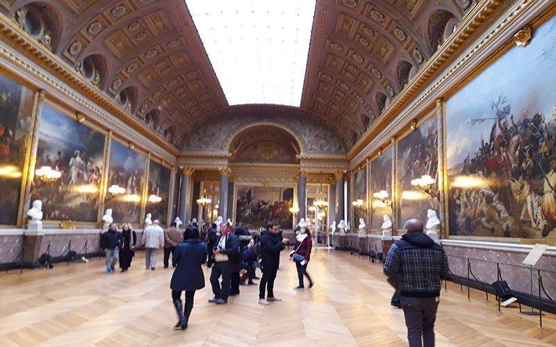 Salones del Palacio de Versalles