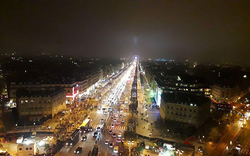 que visitar en París Arco del Triunfo