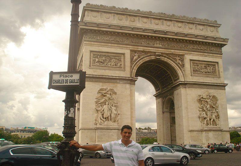 Plaza Charles de Gaulle - Arco del Triunfo