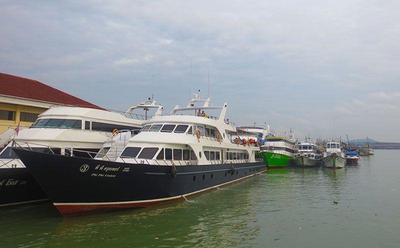 Barco a las Islas Phi Phi